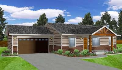 319 W Blanton Ave Post Falls Idaho 83854 3D Model
