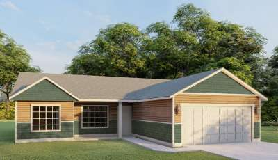 296 W Tennessee Ave Post Falls Idaho 83854 3D Model